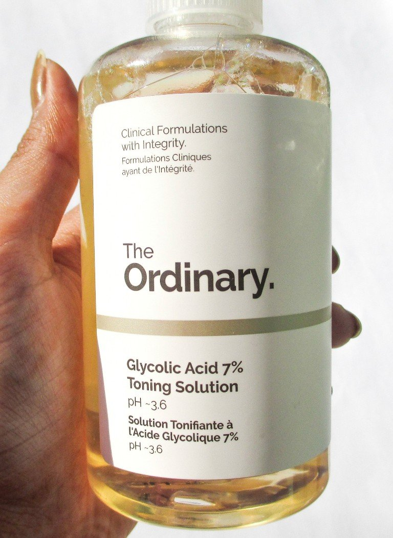 Review of the ordinary glycolic acid toner