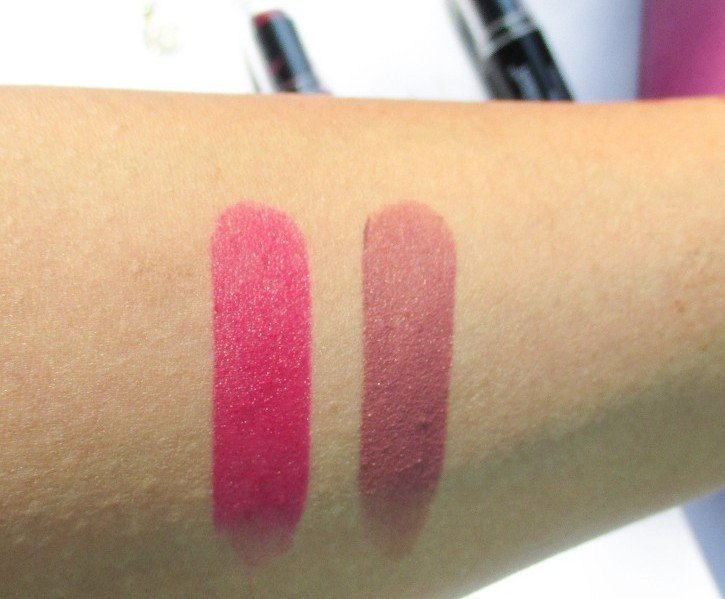 Wet N Wild Mochalicious and Cherry Picking Swatches