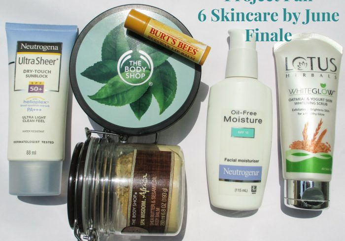Project Pan 6 Skincare by June Finale