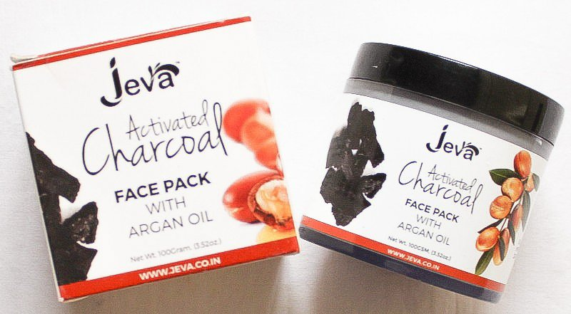 Jeva activated charcoal face pack review