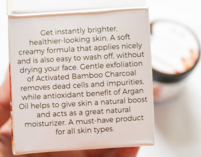 Product Description of Jeva Activated Charcoal Mask
