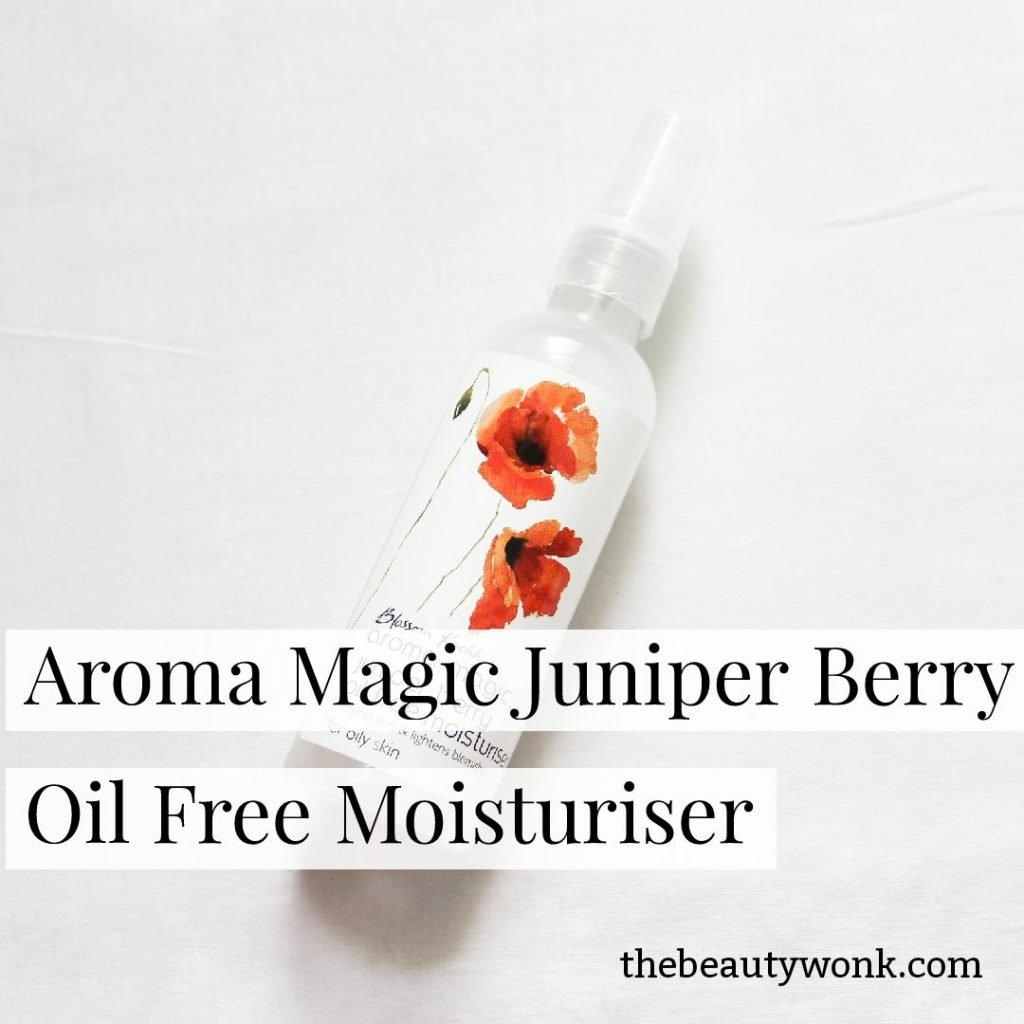 Review Aroma Magic Juniper Berry Oil Free Moisturiser