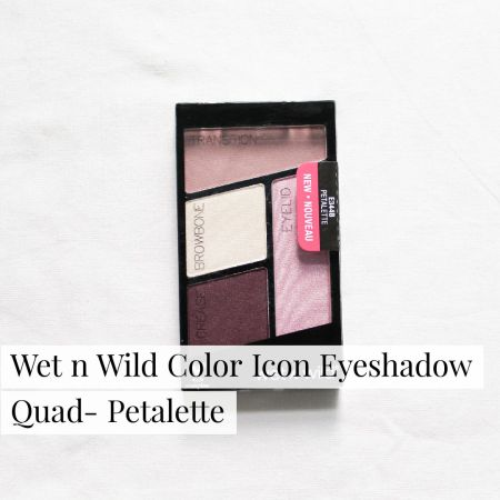 Wet n Wild Color Icon Eyeshadow Quad- Petalette