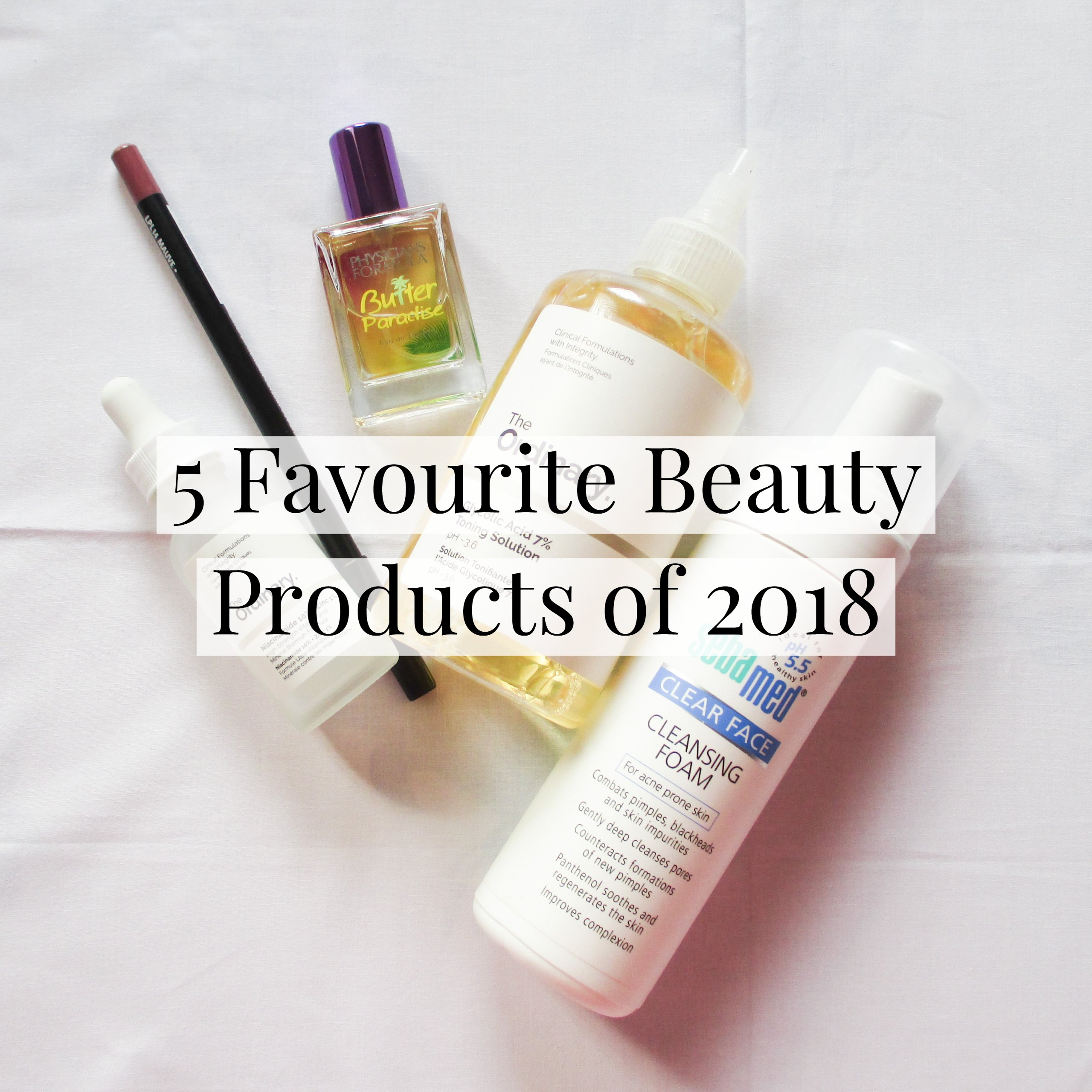 5 Favourite Beauty Products of 2018