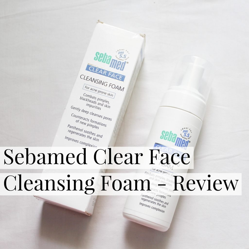 Sebamed Clear Face Cleansing Foam Review