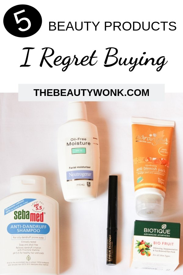 5 Beauty products I regret buying