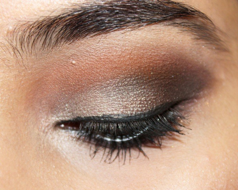 Brown smokey eyes with wet n wild eyeshadow