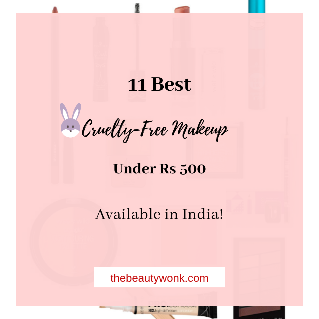 Affordable Cruelty Free Makeup India