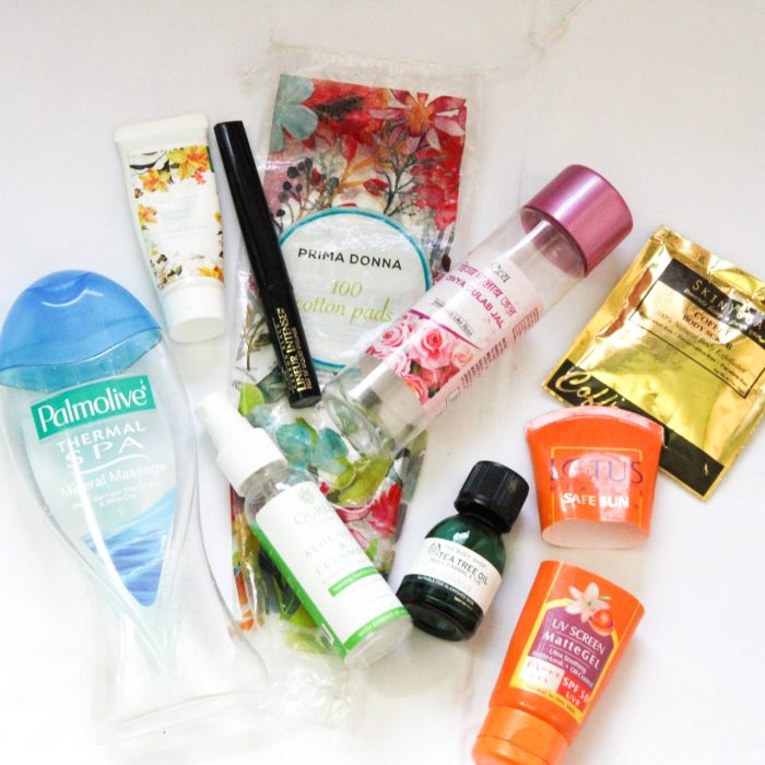 Monthly Empties: What's in My January Beauty Trash?