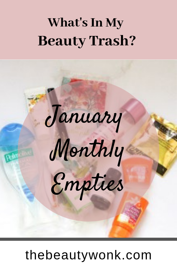 Beauty Trash January Review #monthlyempties