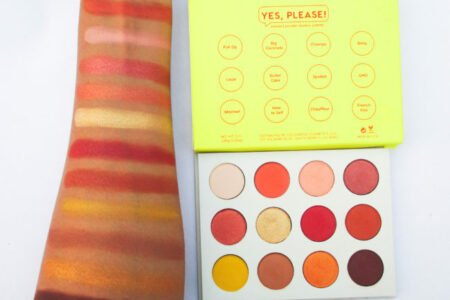 Colourpop Yes Please Palette Swatches
