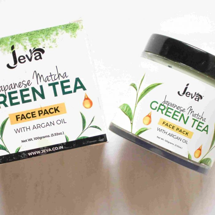 Jeva Japanese Matcha Green Tea Face Pack Review