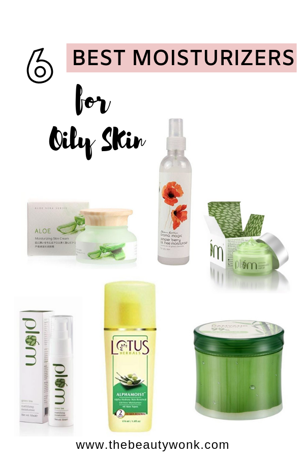 Best affordable moisturizers for oily skin in india
