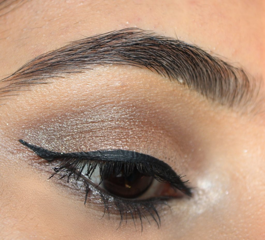 Neutral Taupe Eye Makeup Look