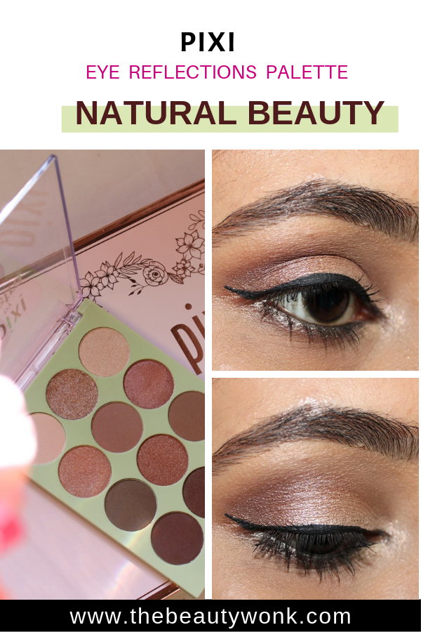 Pixi Natural Beauty Eyeshdaow Palette Review and Makeup Looks