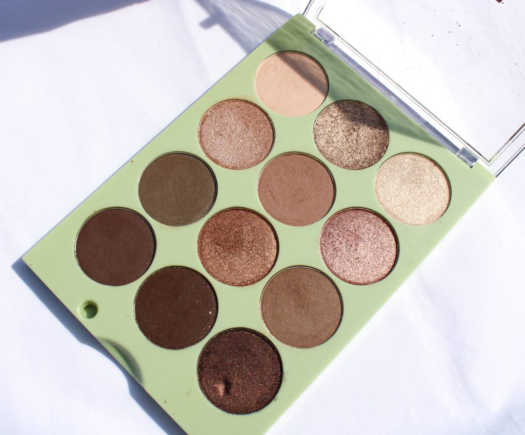 Review of Pixi Eye Reflections Natural Beauty Eyeshadow Palette
