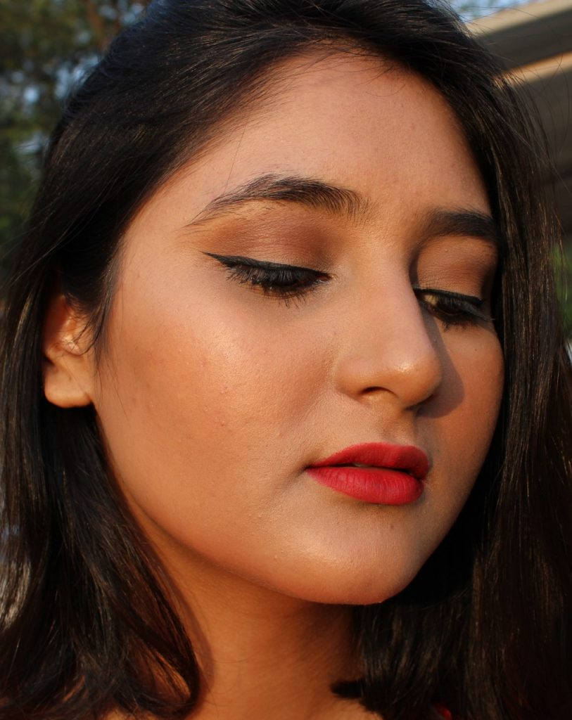 Easy makeup look for parties