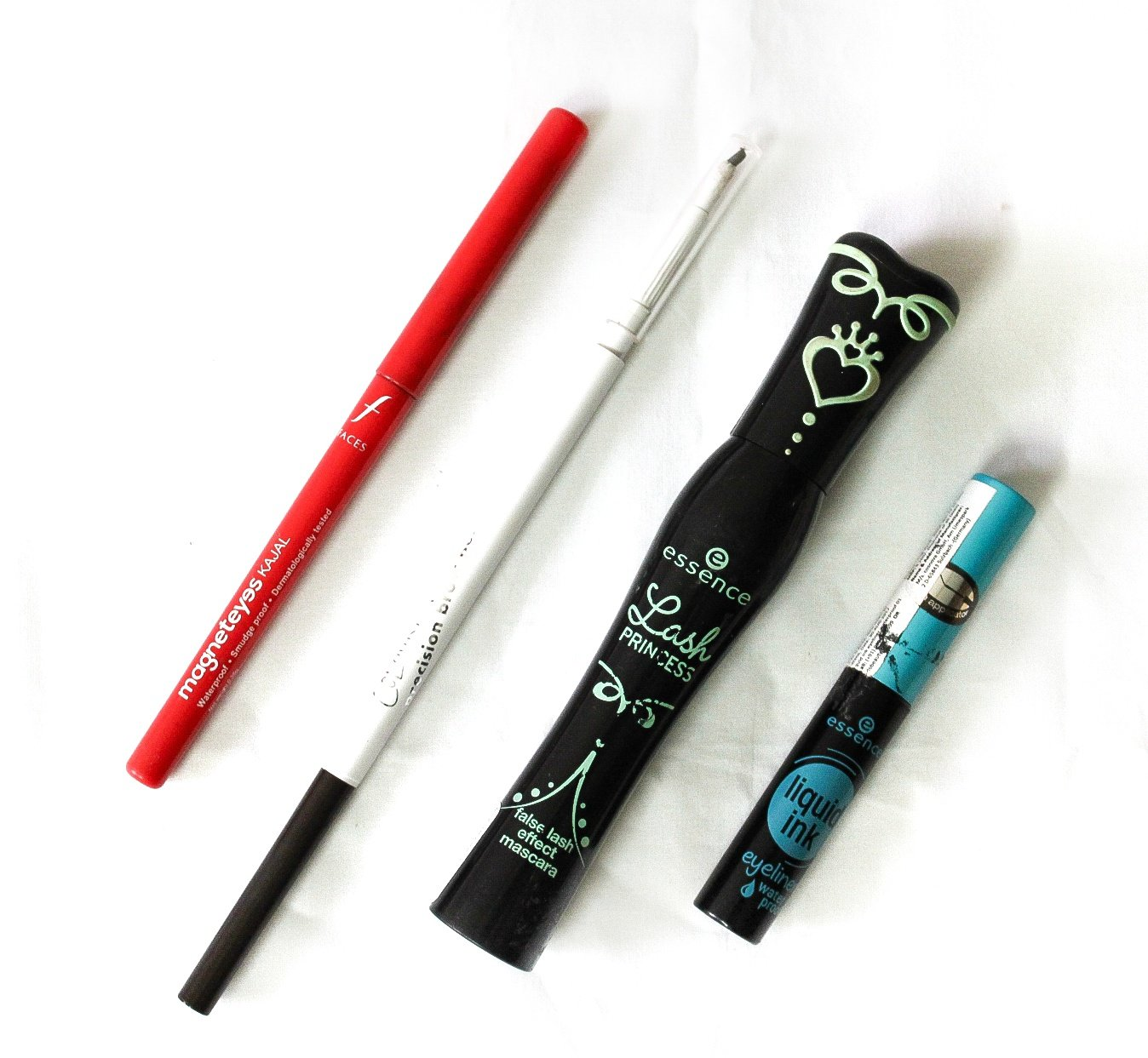 Eye Makeup Products used to create the look