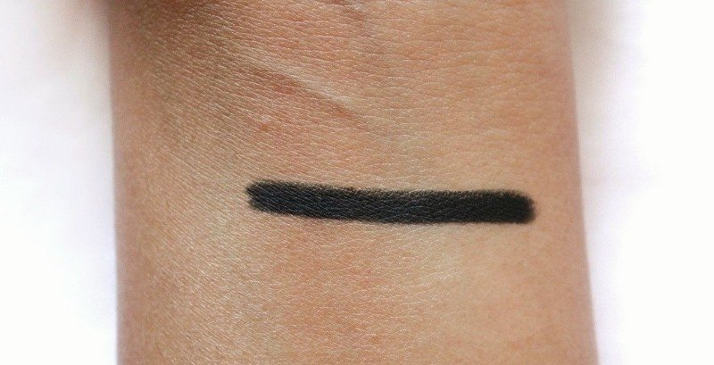 Swatches of Colourpop Swerve Creme Gel Liner