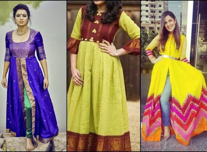 Convert Your Old Sarees Into Sterling Designer Kurtis