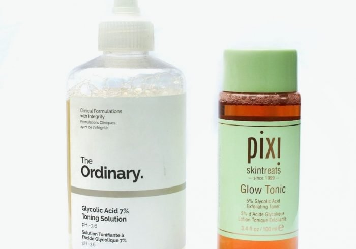 Pixi Glow Tonic vs The Ordinary Glycolic Acid Toner