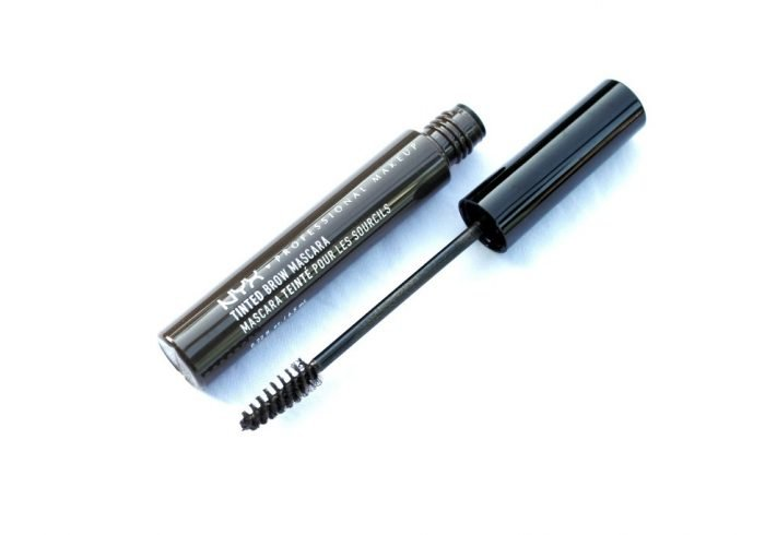 Review NYX Tinted Brow Mascara Black