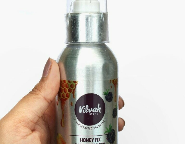 Review of Vilvah Honey Fix Face Cleanser
