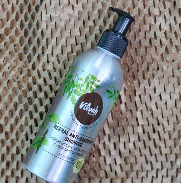 Vilvah Herbal Anti Dandruff Shampoo