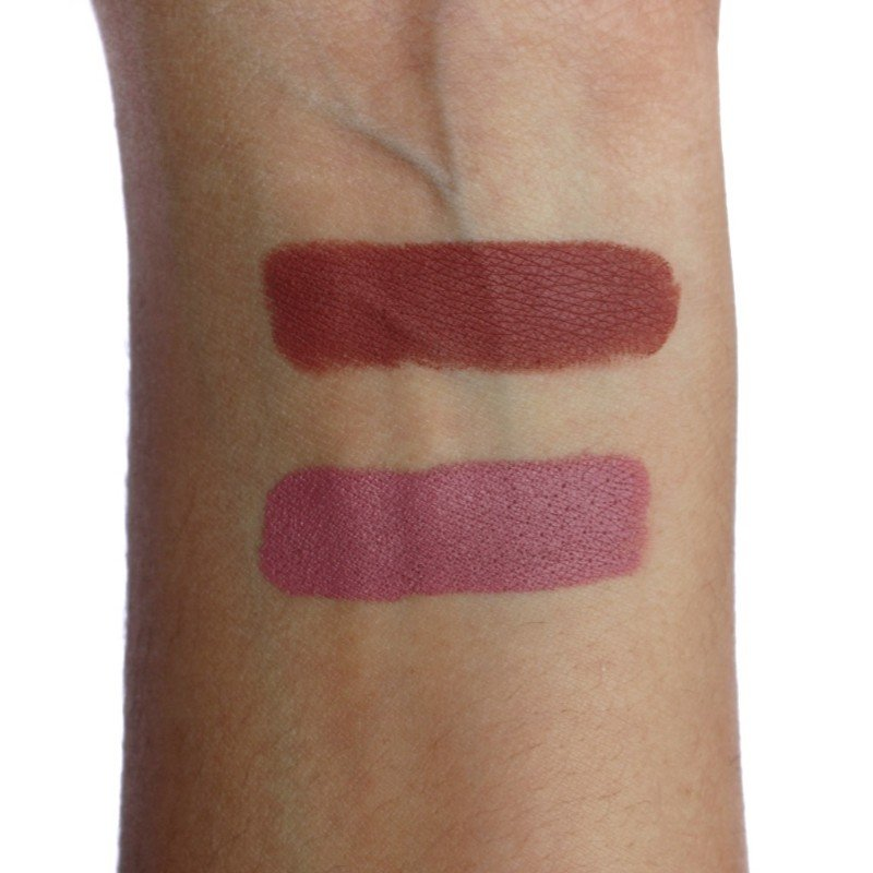 Colourpop Lippie Stix Lumiere and Kapish Swatches