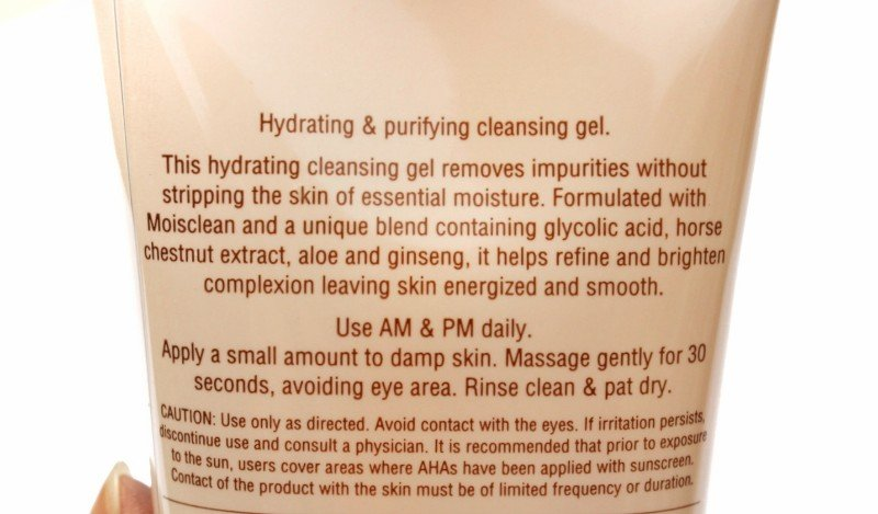 Product Description of Pixi glow tonic cleansing gel