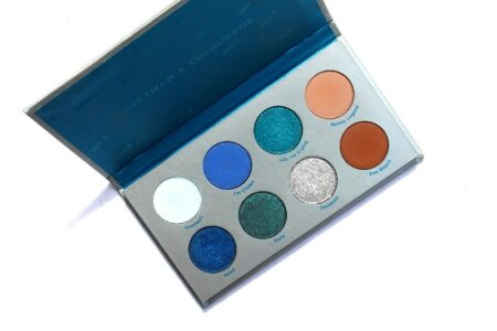 Review of Bretman X Colourpop Wet Eyeshadow Palette