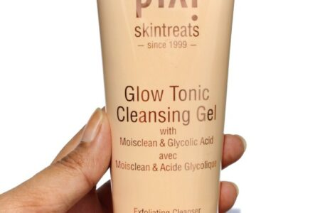 Review of Pixi glow tonic cleansing gel