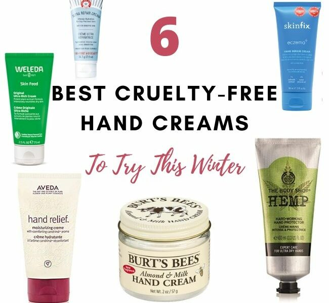 Cruelty free handcreams for dry skin