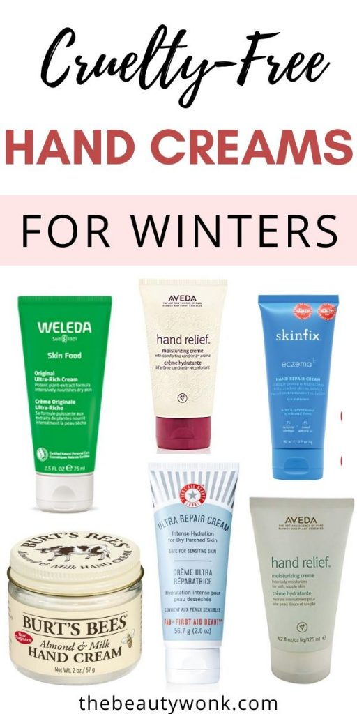cruelty free hand creams for winters