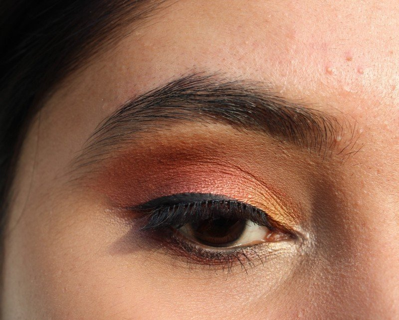 Eye Makeup Look with NYX Perfect Filter Rustic Antique
