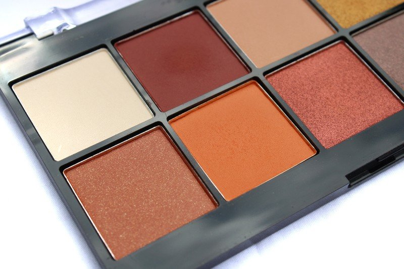 NYX Perfect Filter Rustic Antique Palette Texture