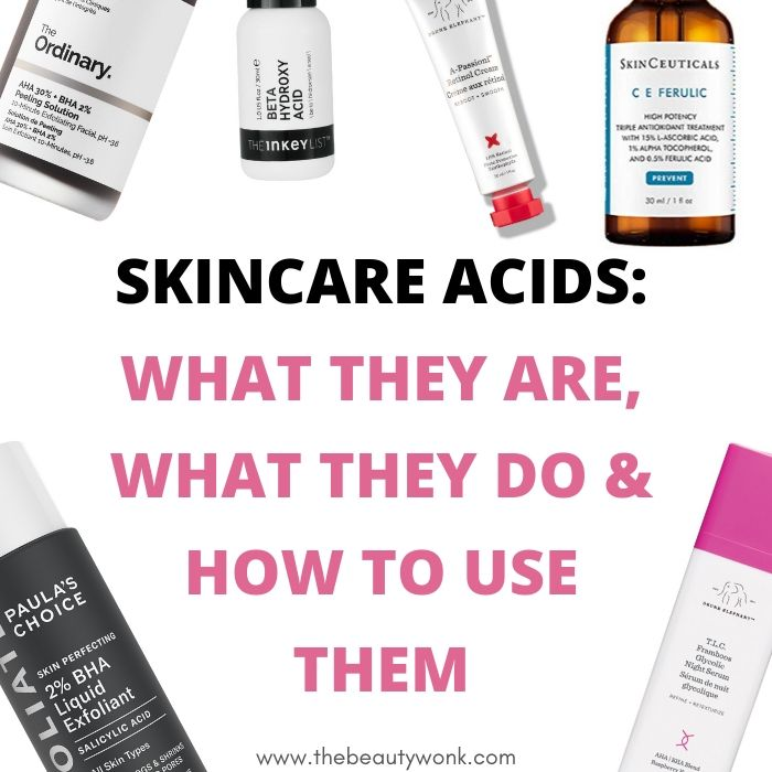 11 Skincare Acids: What They Are, Benefits & How to Use Them