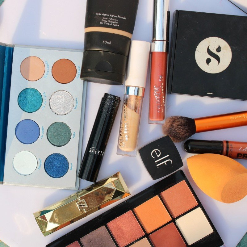 Decluttering Makeup Collection