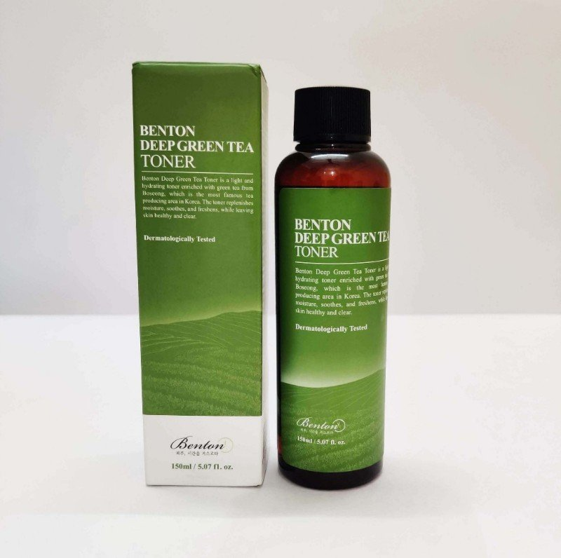 Benton deep green tea best korean toner