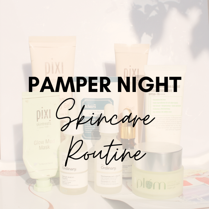 A Perfect Pamper Night Skincare Routine To Relax