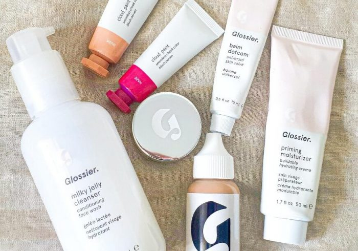 best glossier skincare and makeup products