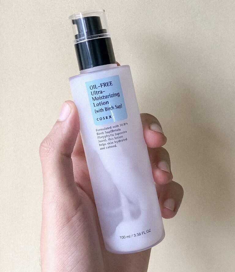 cosrx birch sap lotion best korean skincare product