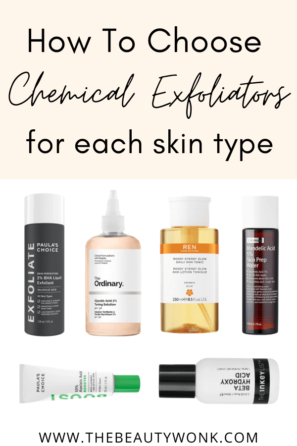 choosing chemical exfoliator